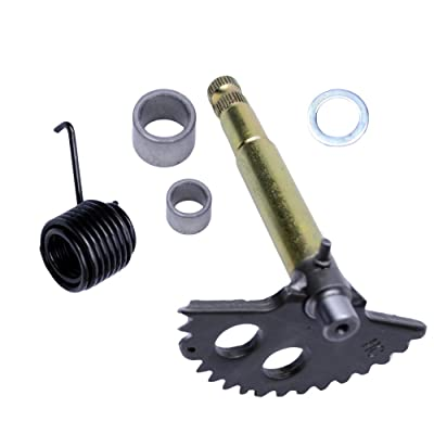 FLYPIG 130mm Kick Start Shaft Gear Start Gear Spring fit for GY6 125cc 150cc 4-Stroke Engines Starter Motor Chinese Scooter Parts: Automotive