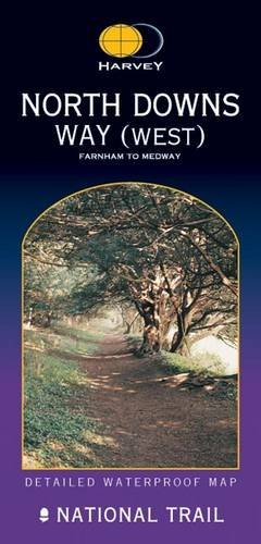 North Downs Way(West): Farnham to the Medway ( Route Map)