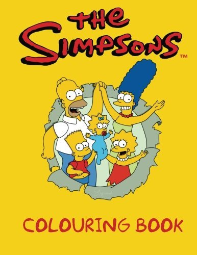 Read Online The Simpsons Colouring Book: A great Simpsons colouring book for kids. An A4 50 page book full off Simpson images to colour. Great for kids aged 3+. pdf