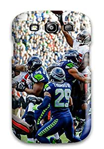 DanRobertse Perfect Tpu Case For Galaxy S3/ Anti-scratch Protector Case (seattleeahawks )