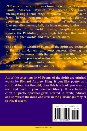 99 Poems of the Spirit: Richard Andrew King, Mr Shannon Yarbrough