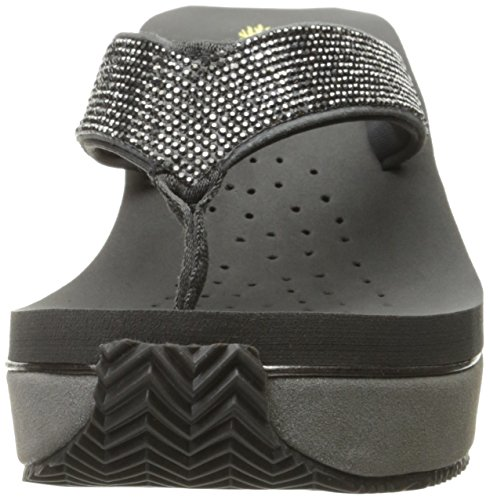 Volatile Sandal Wedge Dark Glimpse Women's Grey fq6FpfSrw