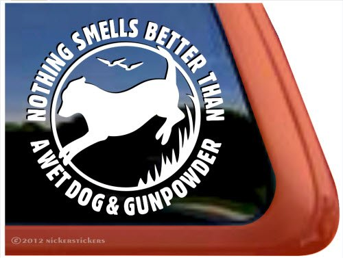 Nothing Gunpowder Labrador Retriever Sticker