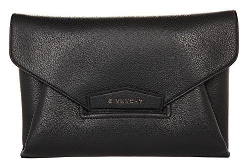 Givenchy Damen Kuvert Clutch GIV102 Schwarz