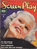 img - for Screen Play (movie magazine), vol. 17, no. 117 (December 1934): Jean Harlow cover; Peggy Fears; Carole Lombard; Chester Morris; Jimmy Durante; Lyle Talbot; Bette Davis book / textbook / text book