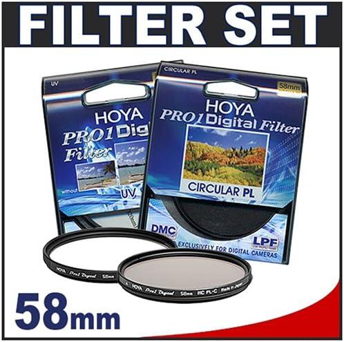 Hoya 58mm PRO1 Digital UV Multi-Coated Glass Filter
