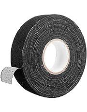 hockey tape, 25 meter hockey Stick Tape antislip hockey Grip Tape zelfklevende ijshockey tapes voor hockey squash racket badminton hengel zwart