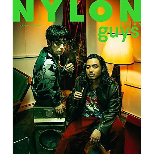 NYLON JAPAN guys 2021年 11月号 表紙画像