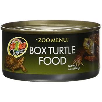 Amazon Com Zoo Med Box Turtle Food Canned Food 6 Oz