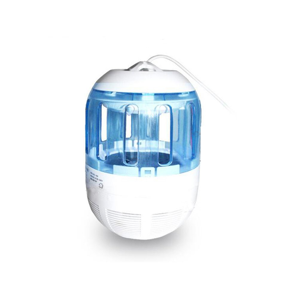Enshey Mosquito Zapper LED Light Mosquito Repellent Light + Mosquito Zapping Function Mosquito Killer Lamp Bug Photocatalyst Insect and Zap Fly Insects Small Eco-Friendly Mosquito Repellent LED Night