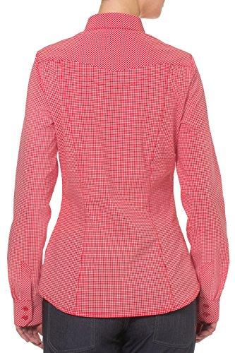 VAUDE Bluse Womens Sura Long Sleeve Shirt III - Camisa / Camiseta para mujer naranja