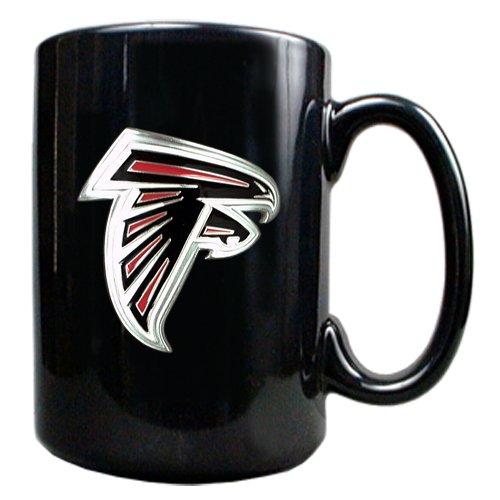 Atlanta Falcons Ceramic (Atlanta Falcons 15-Ounce Black Ceramic)