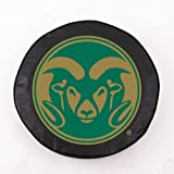 Colorado State Rams Black Tire Cover, Small