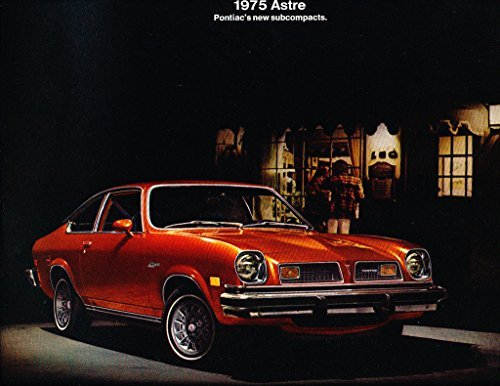 - 1975 Pontiac Astre and GT Chevy Vega like Original Car Sales Brochure Catalog
