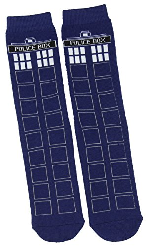 Weeping Angel Doctor Who Costumes (Doctor Who TARDIS Full Cushion Slipper Socks)