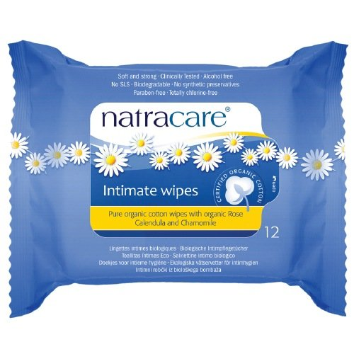 Organic Cotton Intimate Wipes - 12wipes: Amazon.es: Salud y cuidado personal