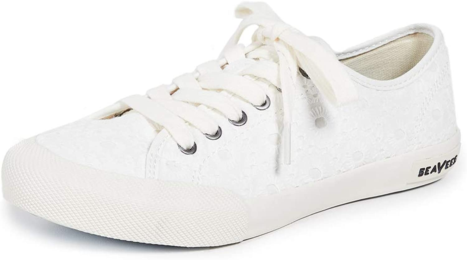 SeaVees Womens Monterey Embroidery Sneakers