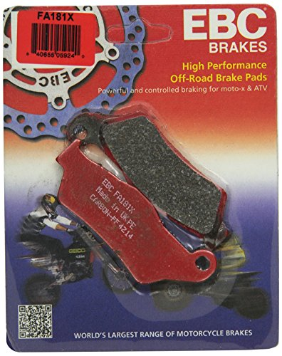 EBC Brakes FA181X Disc Brake Pad Set
