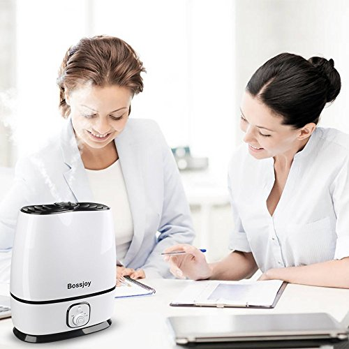 BOSSJOY Ultrasonic Cool Mist Humidifier for Baby, 6L Premium Air Humidifier, Whisper-Quiet Operation, Waterless Auto Shut-Off, Adjustable Mist Mode for Home Bedroom Babyroom Office by BOSSJOY (Image #3)