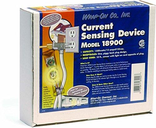 [해외]랩온 18900, 전류 감지 표시 등, 전류 감지 표시등을 관찰하여 히팅 케이블 작동 감지, 전원 코드 포함/Wrap-On 18900, Electric Current Sensing Indicator Light, Det