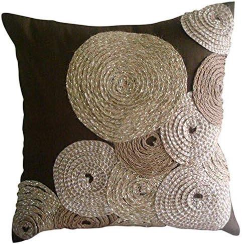 Amazon Com The Homecentric Designer Brown Decorative Zippered