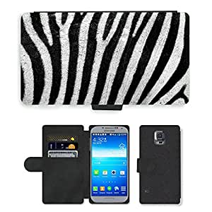 PU LEATHER case coque housse smartphone Flip bag Cover protection // M00112720 Resumen Fondo África Animal // Samsung Galaxy S5 S V SV i9600 (Not Fits S5 ACTIVE)