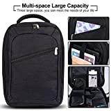 Travel Carry Bag for Nintendo Switch, iDudu Multifunction Backpack Compatible with Nintendo Switch& Accessories, Laptop Macbook (Black)