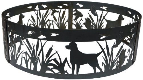 P&D Metal Works Lab N Duck Fire Pit Ring