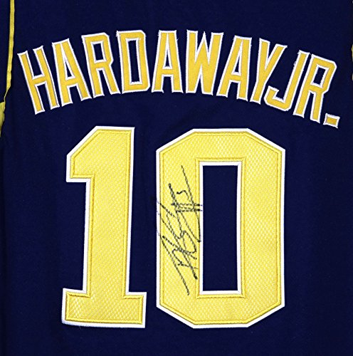 Tim Hardaway Jr. Michigan Wolverines Autographed Blue #10 Jersey by Sports-Autographs