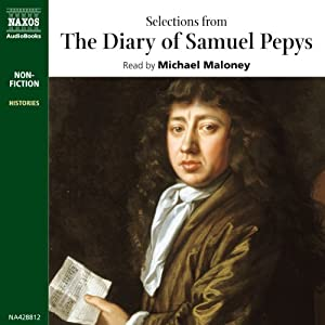 Selections from The Diary of Samuel Pepys Audiobook