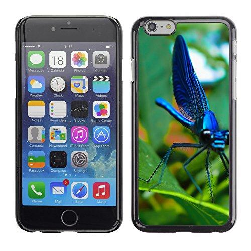 "Premio Sottile Slim Cassa Custodia Case Cover Shell // V00002998 libellule bleue // Apple iPhone 6 6S 6G 4.7"""