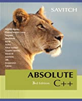 Absolute C++, 3rd Edition Front Cover