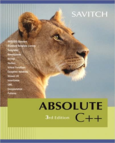 Download Absolute C++ Value Package (includes MyCodemate