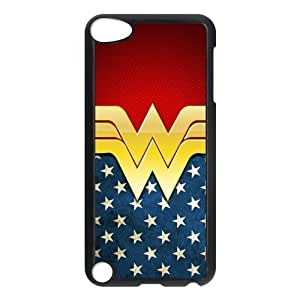 Customize Cartoon Wonder Woman Back Cover Case for ipod Touch 5