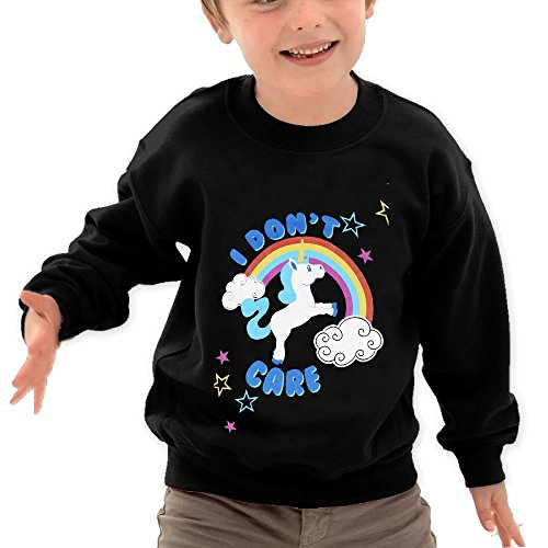 Personalized Mlb Mug (Puppylol Care Unicorn Kids Classic Crew-neck Pullover Hoodie Black 4 Toddler)