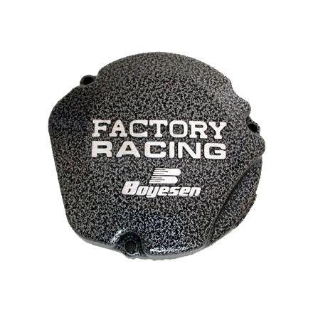 Boyesen SC-21 Silver Vein 'Factory Racing' Ignition Cover