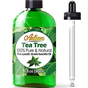 Artizen Tea Tree Essential Oil (100% PURE & NATURAL UNDILUTED) Therapeutic Grade Huge 1oz Bottle Perfect for Aromatherapy, Relaxation, Skin Therapy & More!