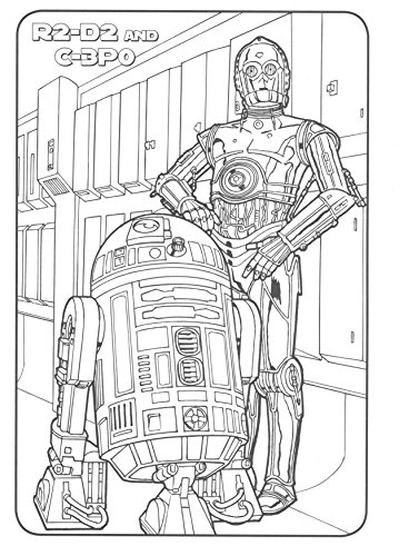 Classic Star Wars Giant Coloring Book with Stickers 144