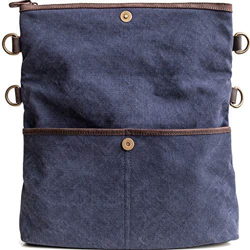 Dual Messenger use S Blue Casual Bag color Blue Rxf Folding Men's Size Shoulder pZHnTIqd