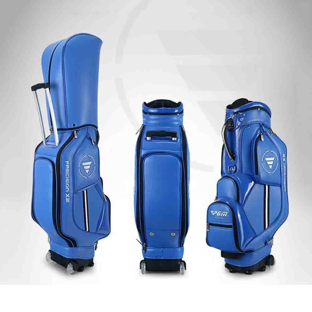 PGM sintética con ruedas para palos de golf bolsa de palos ...