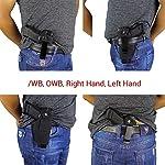 Modaka Etui pour Pistolet, Holster de Ceinture IWB/Taille intérieure Le Holster Tactique en Plein air - Etui de Police… 10