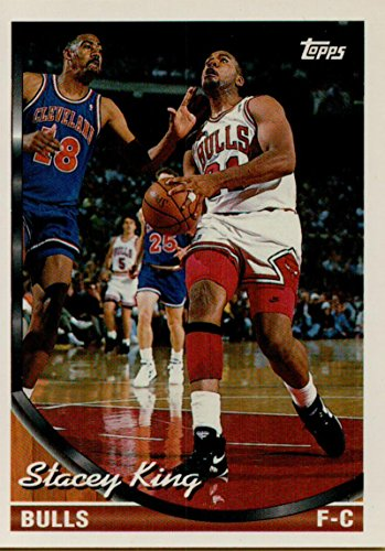 (Basketball NBA 1993-94 Topps #128 Stacey King)