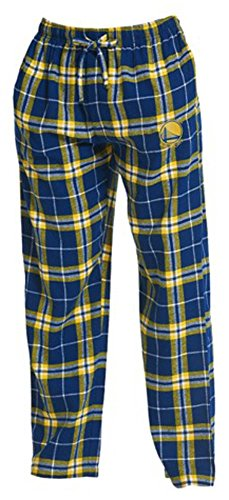 Concepts Sport Golden State Warriors NBA Men's Plaid Pajama Lounge Pants 2XL 44-46 -