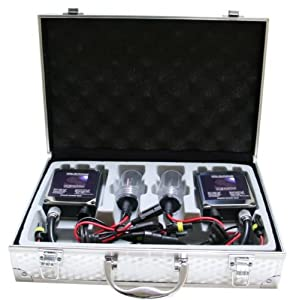 "55w Kensun HID Xenon Conversion Kit ""All Bulb Sizes and Colors"" with Digital Ballasts - 5202 - 6000k"