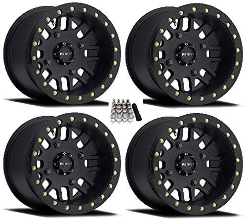 (Method 406 Beadlock UTV Wheels/Rims Black 15