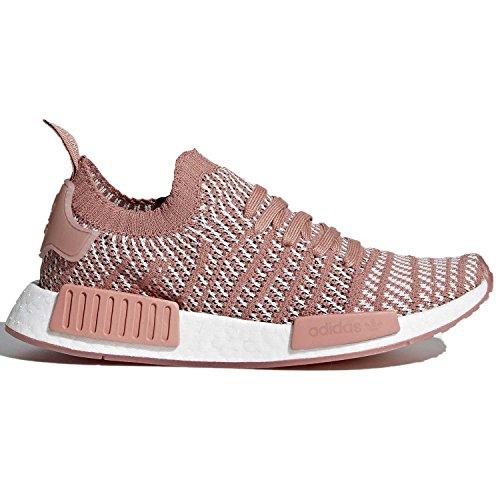 premium selection de553 3fb11 Galleon - Adidas Originals Women s NMD R1 STLT PK, Ash Pink Orange Indigo  White, 9 M US