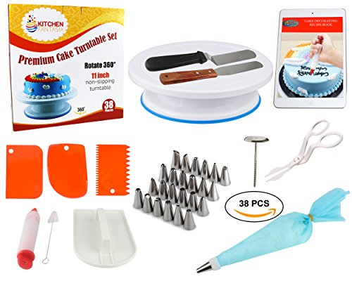 Cake Decorating Supplies Tools Kit 38 Pcs Premium Baking Tools Set