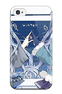 Herbert Mejia's Shop vocaloid hatsune miku blue Anime Pop Culture Hard Plastic iPhone 4/4s cases