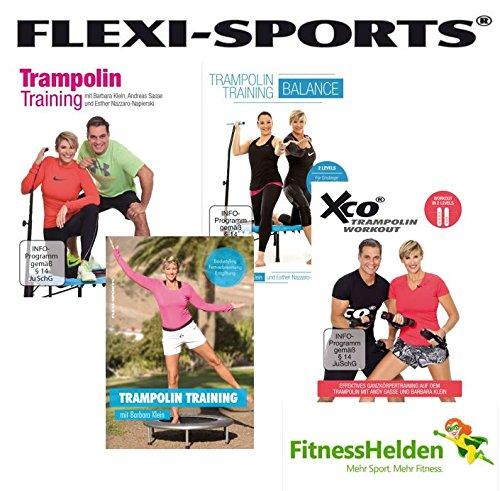 FLEXI-SPORTS® Trampolin DVDs im Super-SPAR-Set