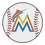 Fanmats Sports Team Logo MLB - Florida Marlins Baseball Mat
